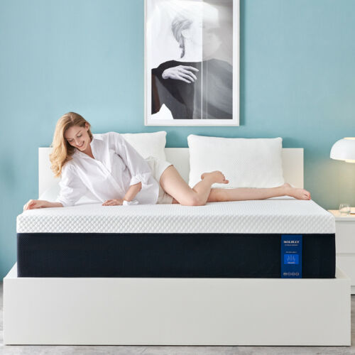 10 Inch Memory Foam Mattress With More Pressure Relief - Bed In A Box Full Queen