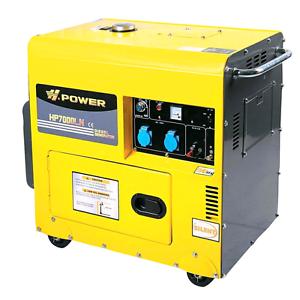 Silent Diesel Generator 5.7kw Heavy Duty Demo Model H-Power 5.7kw Boyup Brook Boyup Brook Area Preview