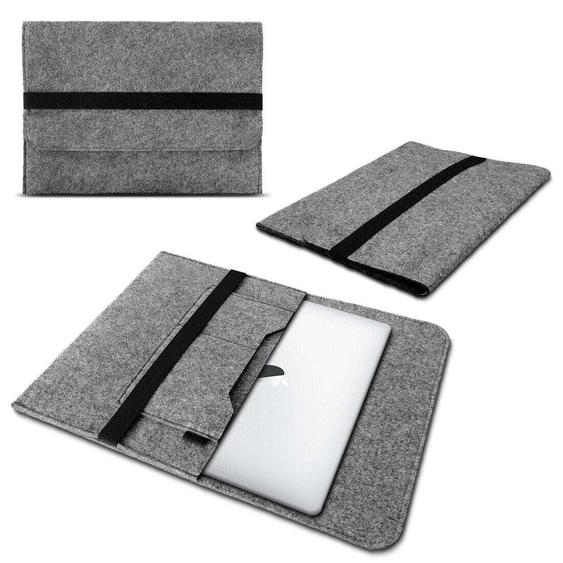 Notebooktasche Laptop Tasche Netbook Sleeve Hülle Filz 17 - 17.3 Zoll Macbook