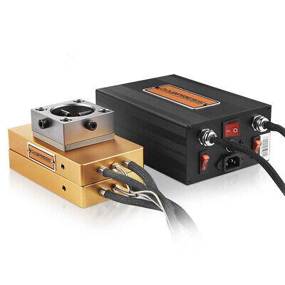 Dabpress 4x7 Rosin Press Plates Kit - Diy 20 Ton Manual Hydraulic Press Machine