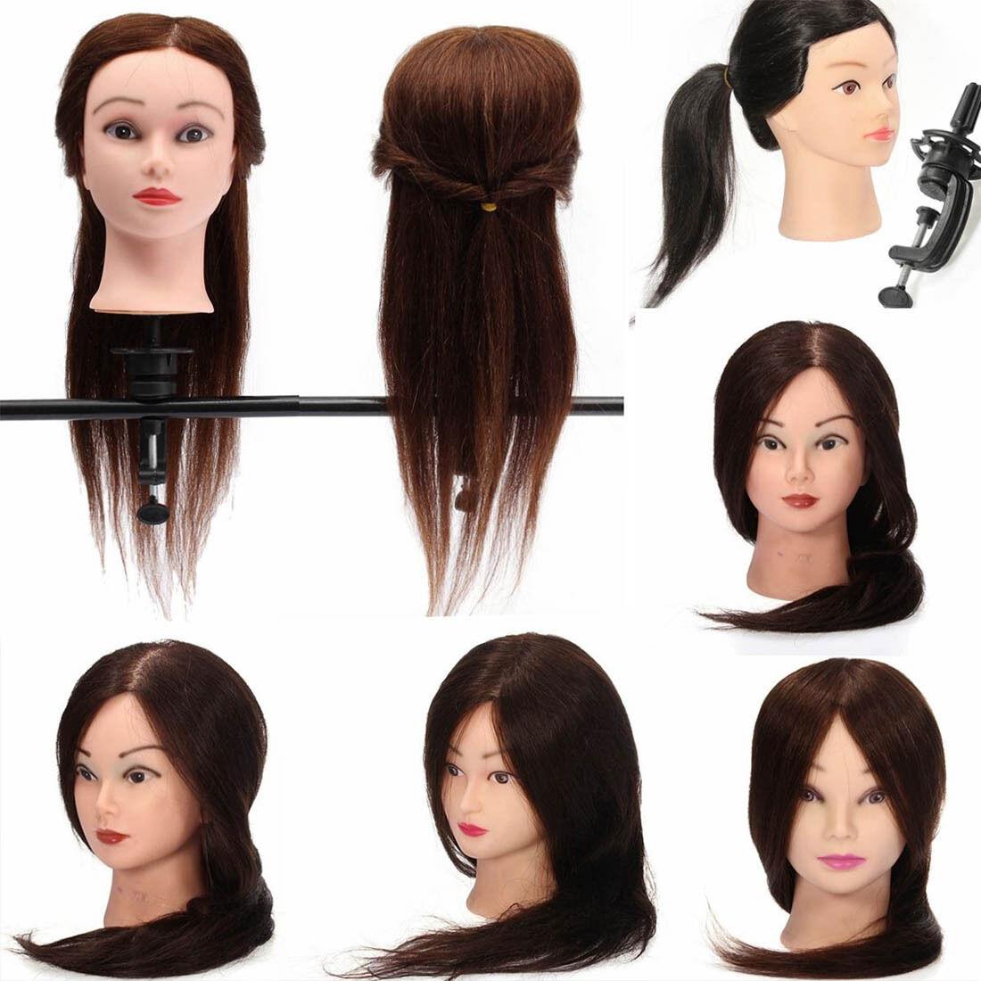 "Hair 24"" Salon Hairdressing Practice Training Head Manneq..."