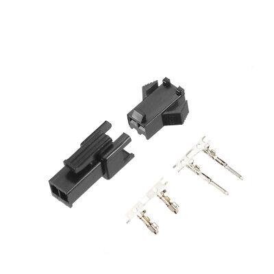 2.54mm 2 Pin Male Female Jst-sm Housing Crimp Terminal Connector