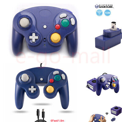 Wireless Wavebird  Remote Gamepad Joystick Controller for Nintendo GameCube