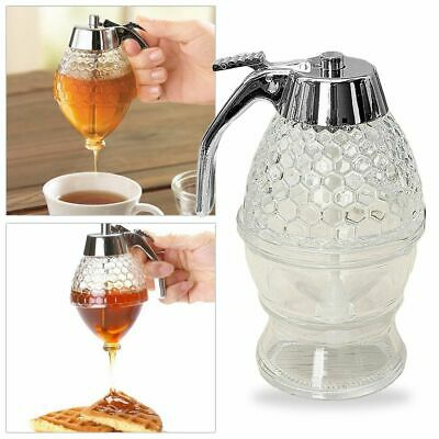 200ml Portable Juice Syrup Cup Bee Drip Dispensers Honey Syrup Dispenser Pot, used for sale  Shipping to Nigeria