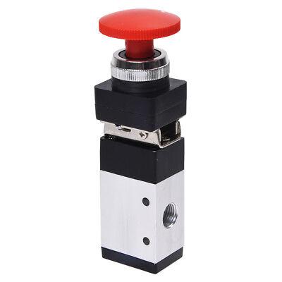 14pt 2 Position 3way Momentary Mushroom Button Pneumatic Mechanical Valve N5v4