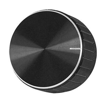 Black Aluminum Volume Control Amplifier Knob Wheel Ad