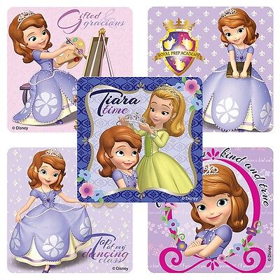 20 Sofia the First Royal Way STICKERS Party Favors Teacher Supplies Treat Bags (Sofia The First Favor Bags)