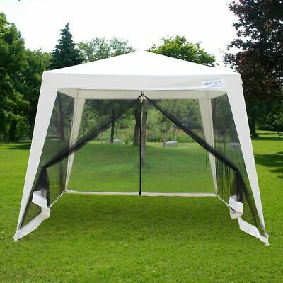 Quictent® 10x10 Trapezoid Canopy Party tent Gazebo Screen H
