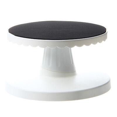 Rotating Icing Revolving Cake Tilting Turntable Decorating Stand Platform Z9T2 Revolving Cake Stand