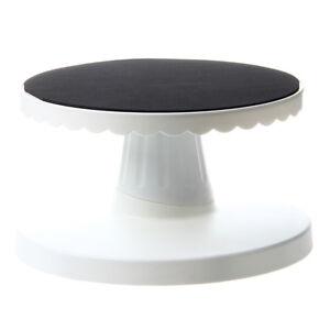 Rotating Icing Revolving Cake Tilting Turntable Decorating Stand Platform Z9T2