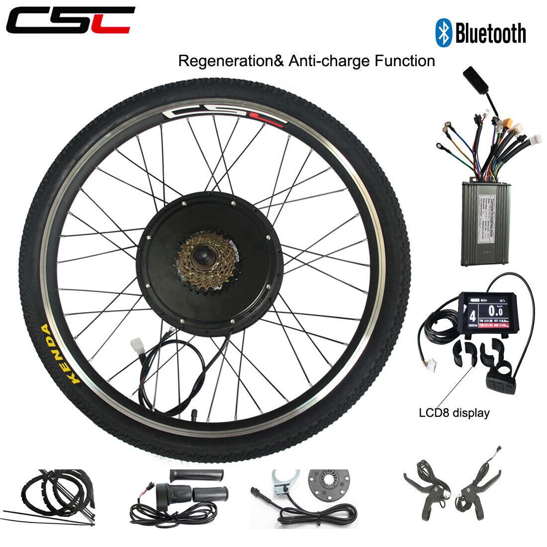 electric bike wheel conversion motor kit 500w