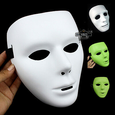 Horror Adult Drama Costume Face Mask For Halloween Party Cosplay Fancy Dress