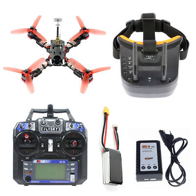 ARF Frog 218mm FPV Camera Drone Quad Betaflight F4 Pro V2 2.4G 6CH RC Racer DIY