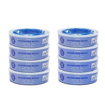 NEU Nachfüllkassette für Angelcare Windeleimer  8er Pack Ersatzkassetten