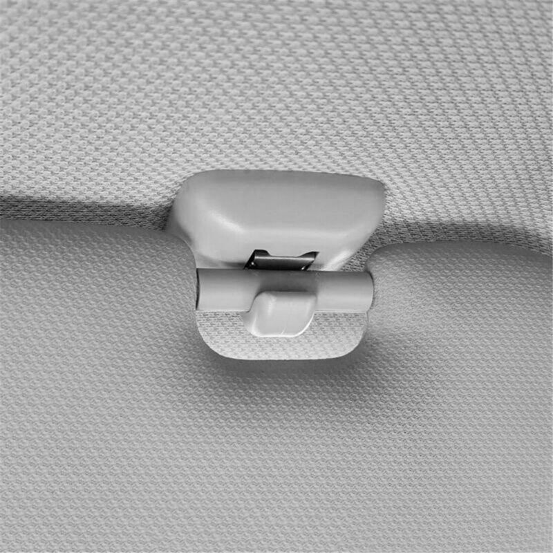2 X Sonnenblende Haken Clip Visierhalter Grau Für Audi A1 A3 A4 A5 A7 8E0857561