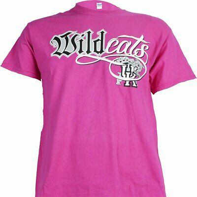 University of Kentucky Wildcat Bling on Pink T Shirt University Pink Shirt