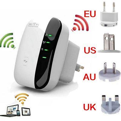 WiFi Range Extender Super Booster 300Mbps Superboost Boost Speed WIRELESS