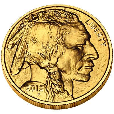 Купить United States Mint - $50 1oz Gold American Buffalo (Random Date) BU