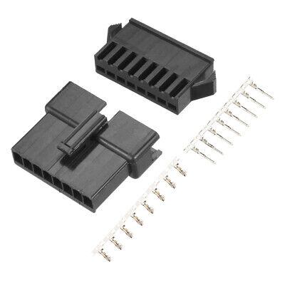 2.54mm 8 Pin Male Female Jst-sm Housing Crimp Terminal Connector