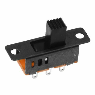 10 X Dc 0.5a 50v 3 Position 2p2t Dpdt Panel Mount Slide Switch Ss23d32 Y7x8