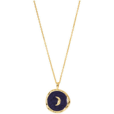 Gorjana Moon Coin Two Tone 18.5 inches Necklace 193-109-230-G