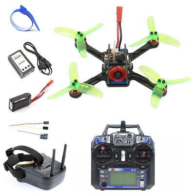 120mm Mini F3 OSD 2S RC FPV Racing Drone Quadcopter 700TVL Camera VTX Goggle