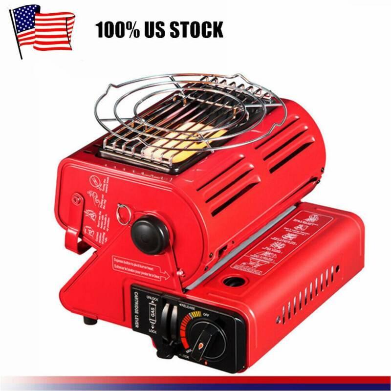 Portable Butane Heater 4,400 BTU Outdoor Camping Gas Heater