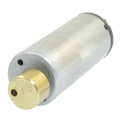 DC 1.5-6V 1750-7000RPM Output Speed Electric Mini Vibration Motor Silver+Gold LW