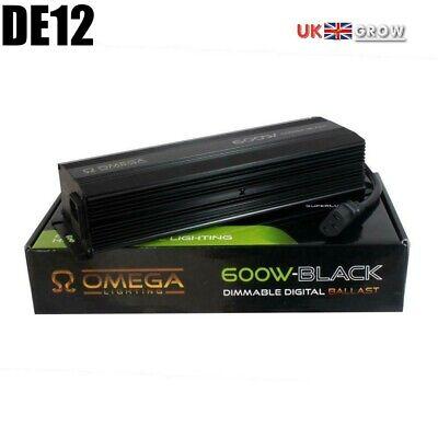 OMEGA BLACK 600 watt Dimmable Digital Ballast 660w 600w 400w 250w Hydroponics