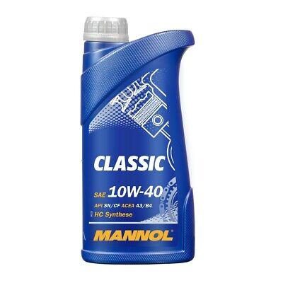 1 Liter 10W-40 Motoröl Mannol Classic für VW 50500 MB 229.1 RN700 ACEA A3 B4