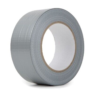 Utility Grade Cloth Duct Tape 2 Wide X 60 Yards Length Silver 2x60