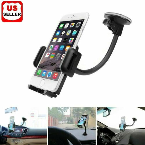 Car Windshield Dashboard Suction Cup Mount Holder Stand for Cell Phone Universal Cell Phone Accessories