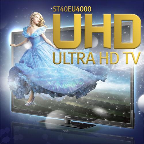 "XPEER New Perfect 40"" ST40EU4000 Real 4K UHD TV 60Hz 3840x2160 HDMI LED TV"