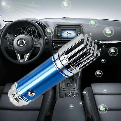 Auto Car Fresh Air Purifier Oxygen Bar Ozone Ionizer Cleaner New ionic -