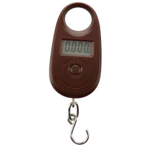 25kg/ 5g Digital Hanging Scale Fishing Scale Luggage Scale Spring M8H6