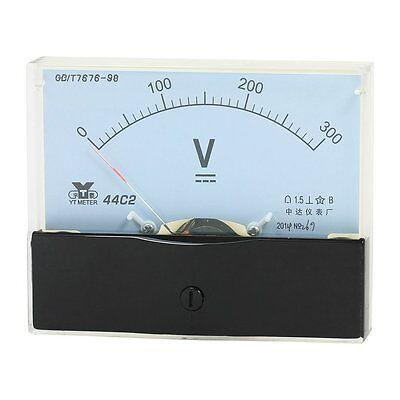 1pcs Dc 300v Analog Panel Volt Voltmeter Meter Measuring Range 44c2 Dc 0- 300v