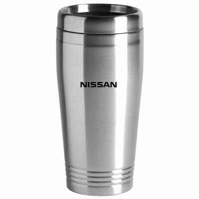Nissan Stainless Steel Tumbler Vacuum Insulated Travel Coffee Mug - Silver Nissan Stainless Steel Travel Mug