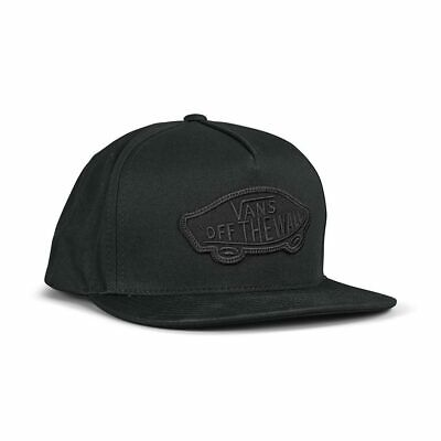 Vans Classic Patch Snapback Hat - Black / Black