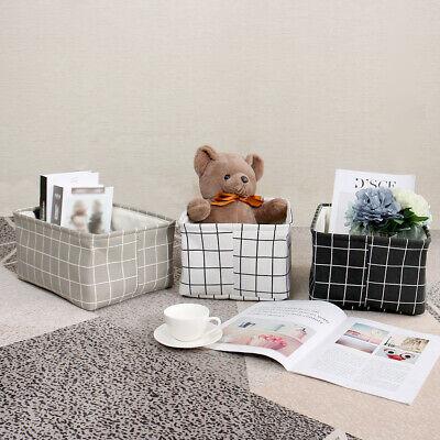 Storage Baskets Bins for Shelves Toy Laundry Box Organizer w