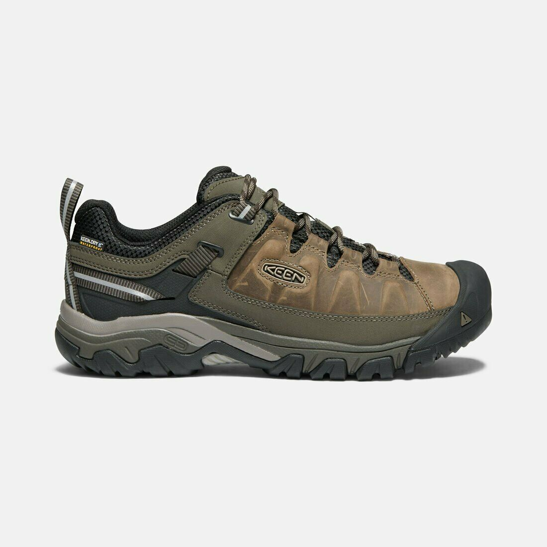KEEN Shoes Men's Targhee III Leather Waterproof Shoes Width