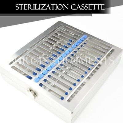 Sterilization Cassette 8 X 7 X 1.5 W Locking Clamp - Surgical Medical Dental