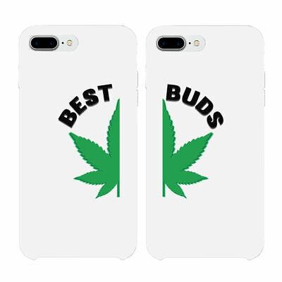 365 Printing Best & Buds Marijuana Best Friend Matching Phone Case