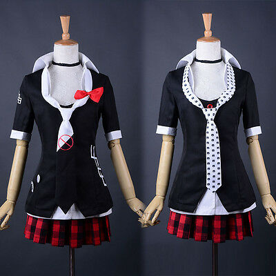Adult Women Anime Danganronpa Cosplay Uniform Junko Enoshima Costume Halloween (Anime Costumes For Women)