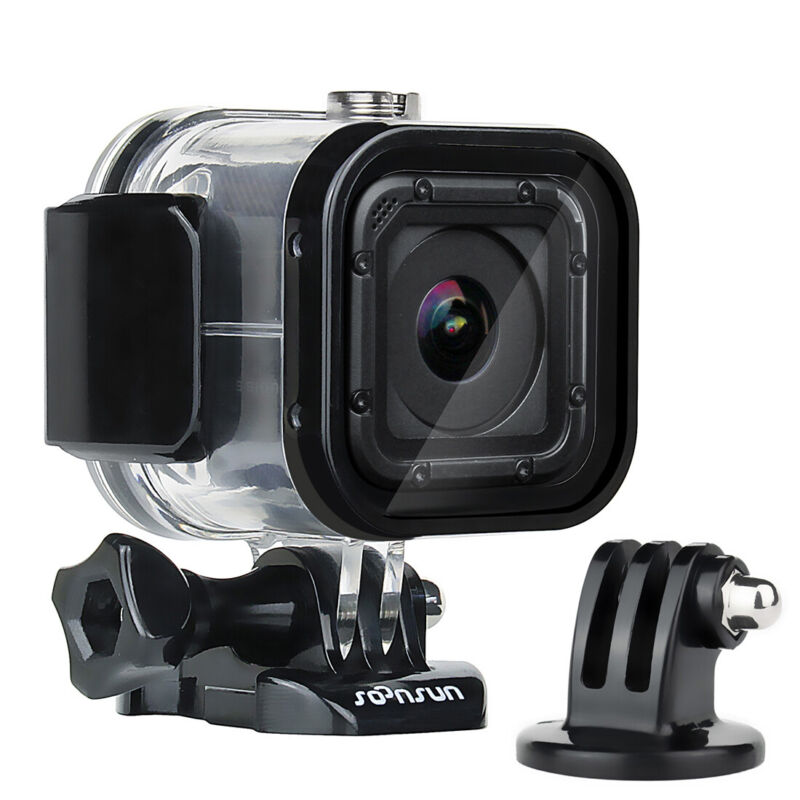 60m Underwater Waterproof Dive Housing Protect Case for GoPro Hero 5/4 Session