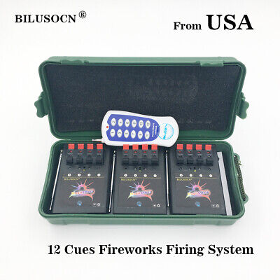 Profession 12 Cue Wireless Fireworks Firing system  Remote control