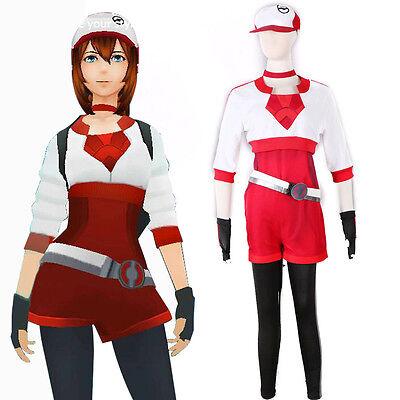 Pokemon Go Team Trainer Uniform Valor Instinct Mystic - Pokemon Trainer Red Cosplay Kostüm