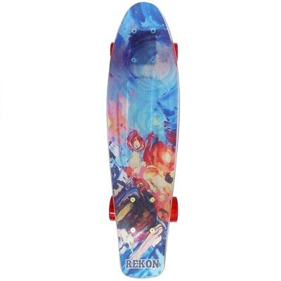 Cal 7 Complete Mini Cruiser Plastic Skateboard Explosion