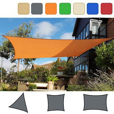 Sonnensegel Dreieck Quadrat Sonnenschutz Segel Beschattung Schattensegel