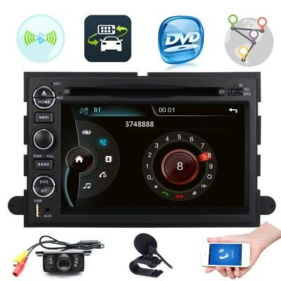 Car stereo DVD GPS Radio Ford Fusion Mustang F350/F450/F550 Navigation Bluetooth
