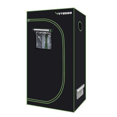 "VIVOSUN 36""x20""x62"" Mylar Hydroponic Grow Tent Room Indoor Plant Growing 2' x 3'"